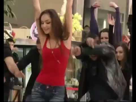 Russians dancing on Hindi song