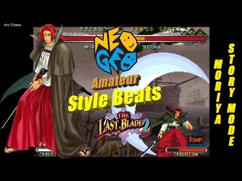 The Last Blade 2 Story Mode-Moriya Gameplay[Neo Geo] |
