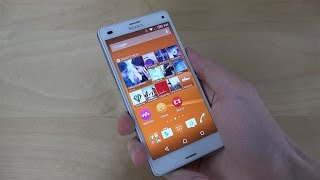Sony Xperia Z3 Compact Official Android 5.0.2 Lollipop Review