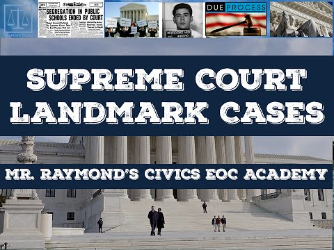 US Supreme Court Landmark Cases