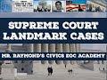 US Supreme Court Landmark Cases