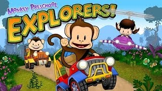 Monkey Preschool Explorers - Educational App for Kids