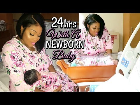Labor and Delivery Vlog | 24 Hours With A Newborn Baby | Bringing Baby Home From Hospital