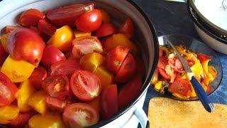 Сок томатный, соус, как приготовить