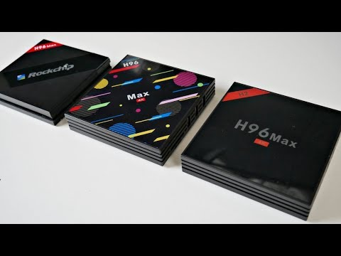 ALL H96 Max Android TV Box Models Compared - Which One Is The Best?