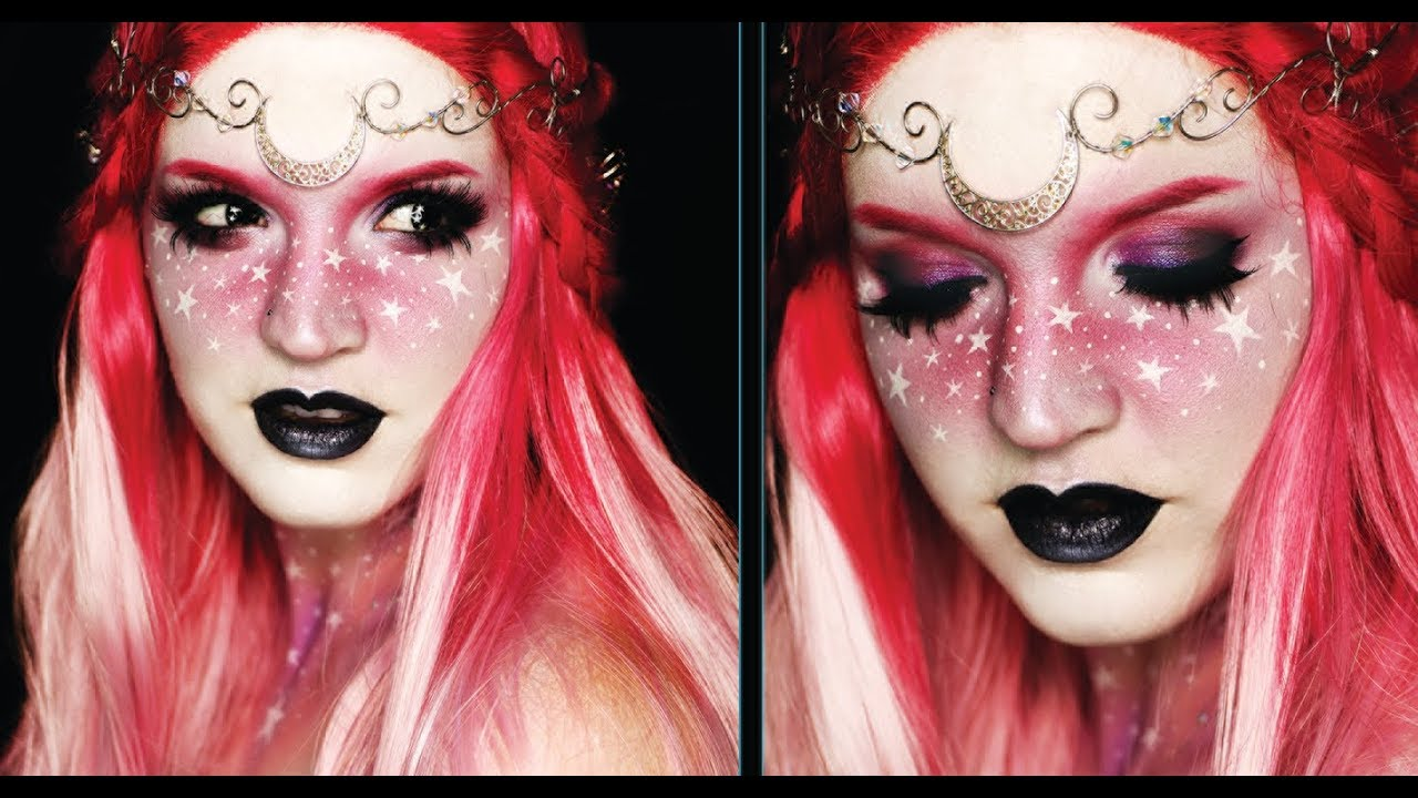 Easy halloween makeup tutorial fairy princess youtube.