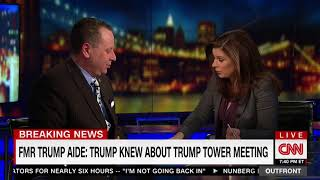 CNN's Erin Burnett to Fmr. Trump Aide: 'Talking to You, I Have Smelled Alcohol on Your Breath'