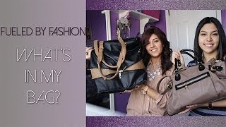 What's in my bag?! | Fueled by Fashion Thumbnail