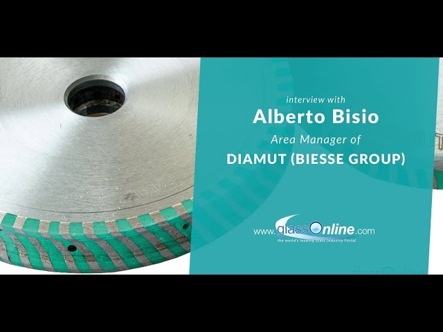 Video Interview with Alberto Bisio, Area Manager of Diamut (Biesse Group)