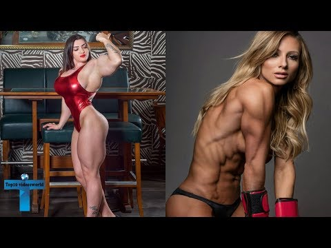 Top 10 Most Beautiful And Gorgeous Female Bodybuilders Around The World That Will Inspire You