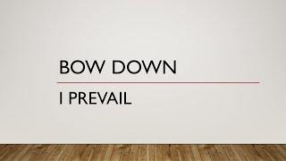 I Prevail | Bow Down