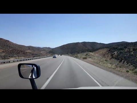 BigRigTravels LIVE! Hesperia, California to Las Vegas, Nevada Interstate 15 North-April 9, 2018