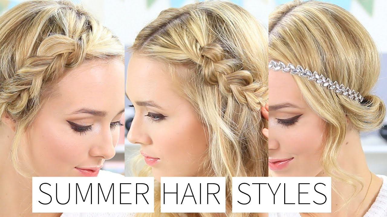 easy & quick summer hairstyles
