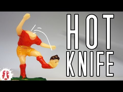 HOW TO Make A Hot Knife To Easily Cut Through Plastic And Styrofoam #ArtsAndCraft