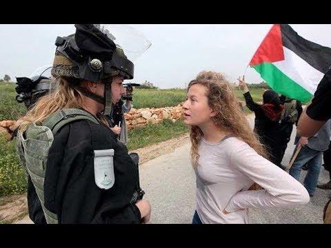 عهد التميمي رمز المقاومة الناعمة وأيقونة الصمود والتحدي ///  حصة عين على فلسطين 2016