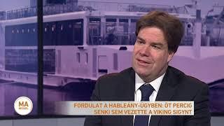 Fordulat a Hableány-ügyben: öt percig senki sem vezette a Viking Sigynt