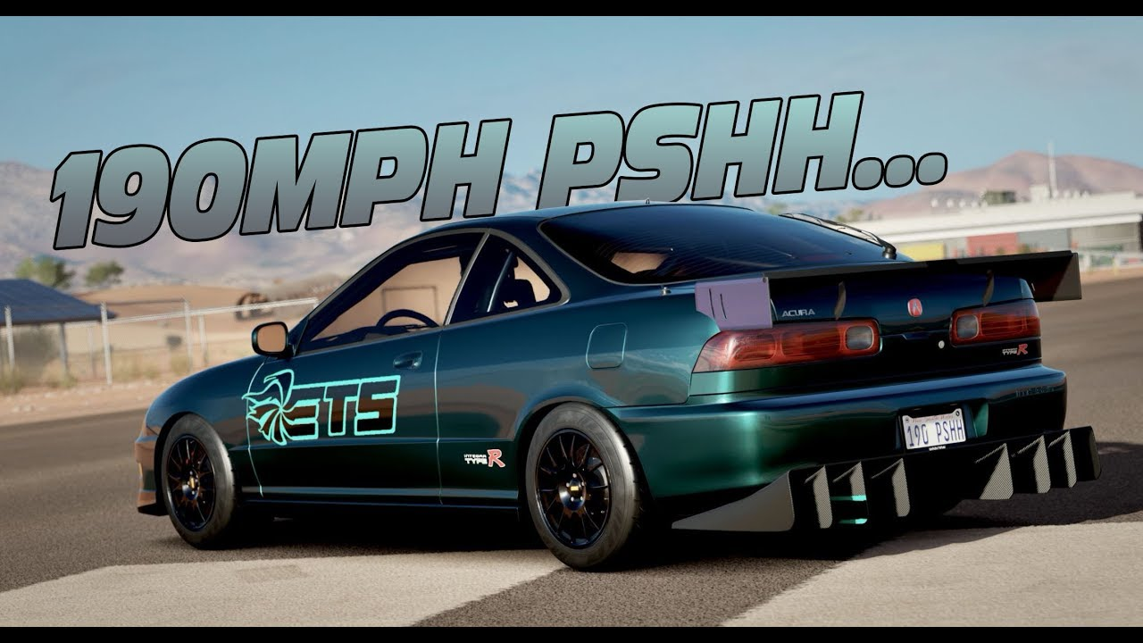 Forza Horizon Mods RECREATION OF THE ETS INTEGRA THAT COULD - Acura integra mods