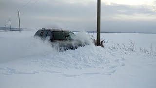 Pajero 4 и L200 по снегу или поиск предела проходимости