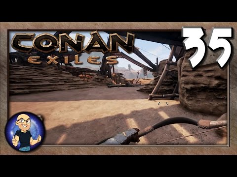 Named Tanner and Flawless Longswords!- Conan Exiles Multiplayer Gameplay E35