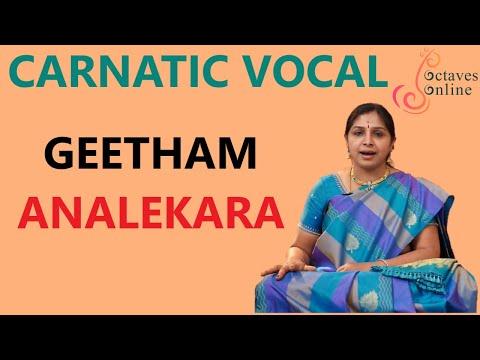Carnatic-Music : Aana Lekara Geetham (SuddhaSaveri Raaga)