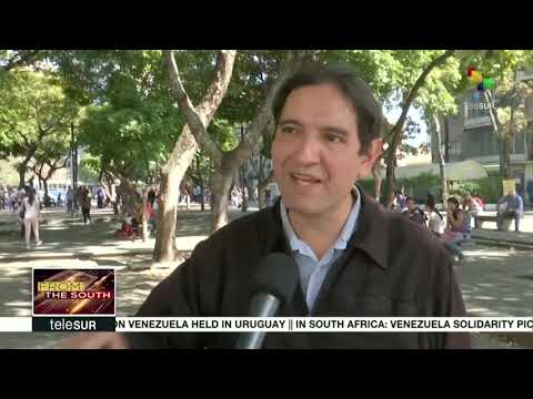 FtS: SA: Supporters of Venezuelan Govt protest outside the US Embassy