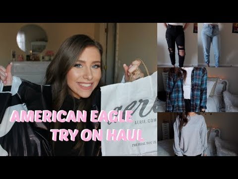 American Eagle Try On Haul | Winter-Spring 2018