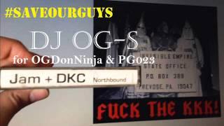 JAM + DKC - Fuck Da KKK (Ku Klux Klan) feat. 100X (DEMO MEGA RARE RANDOM RAP)1991