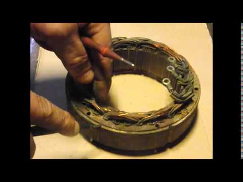 How To Test  Alternator Stator Windings The True Way To Test It