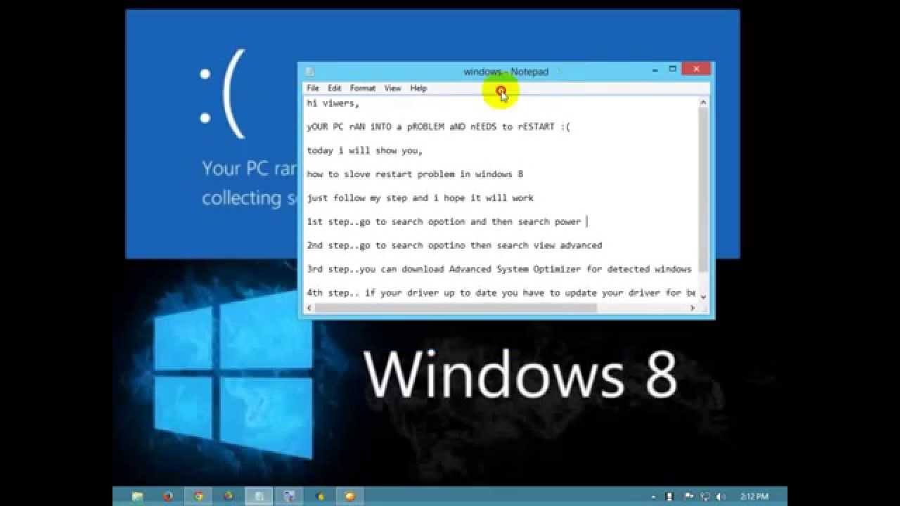 Fix 'Your PC Ran Into a Problem and Needs To …
