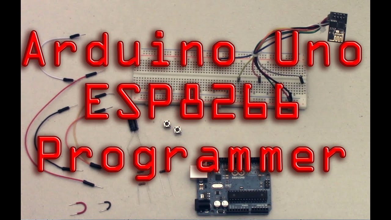 Program esp via arduino uno doovi