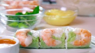 How To Make Classic Vietnamese Spring Rolls