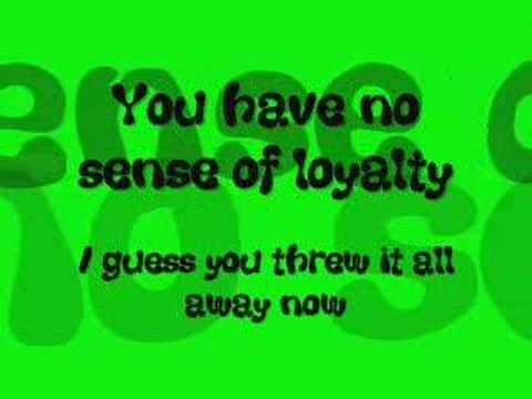 fake friendship with lyrics