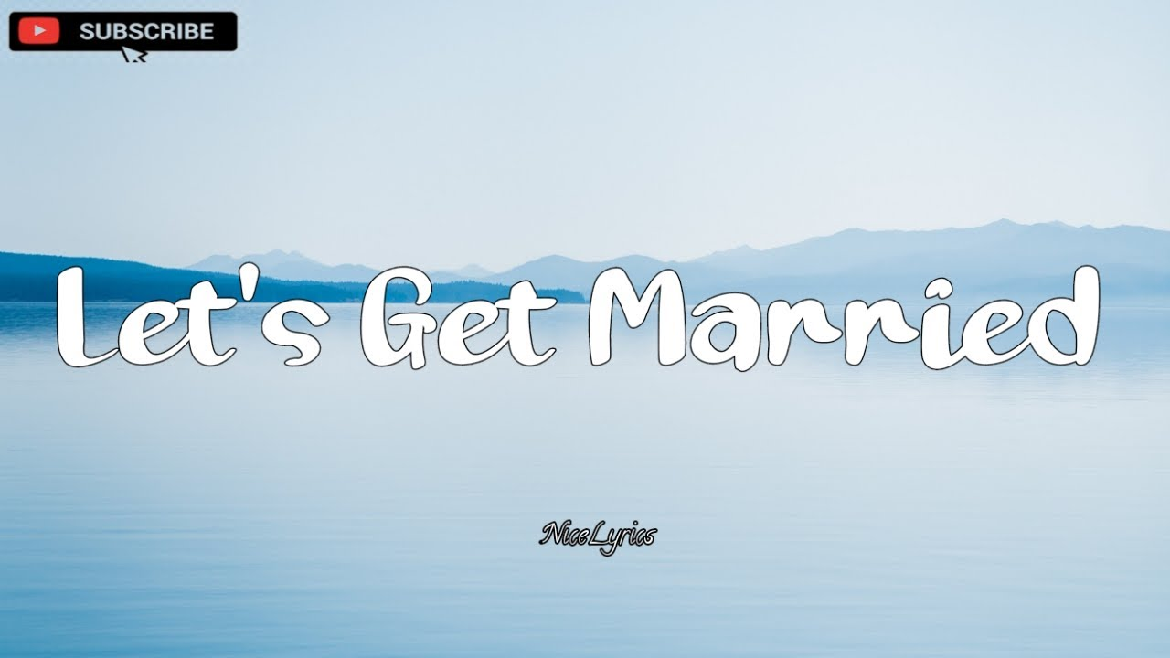 Let's Get Married - Vedo [ LYRICS ]