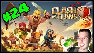 Clash of Clans #24 - WiGiNu taktika! | SK Let's play | HD