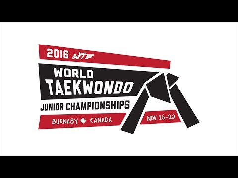 2016 World Taekwondo Junior Championships- Day1 (Semi-finals, Finals, Award Ceremonies)