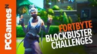 Fortnite Season 10 - Blockbuster Challenges