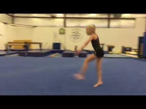 split leap (floor)