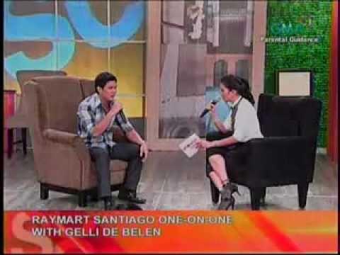 Showbiz Central - 09.19.2010 -- Gelli de Belen interviews Raymart Santiago (part 1 of 2)