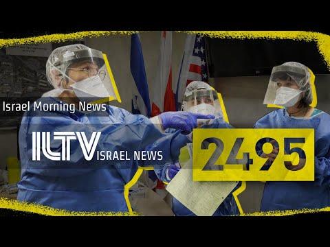 2495 Israelis have Coronavirus - ILTV Israel news - Mar. 26, 2020