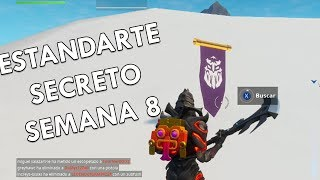 Secret Banner Week 8 (Temp 8) Fortnite