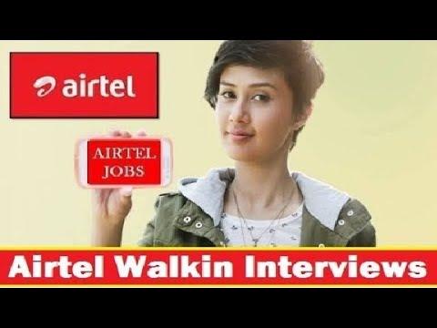 Airtel Walkin Interviews   Freshers   Customer Support Engineer