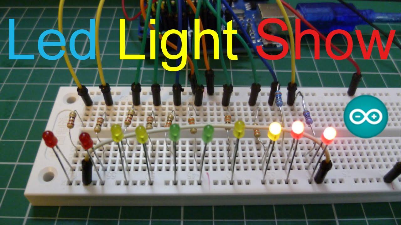 Arduino Led Light Show Christmas Lights Uno 10 You