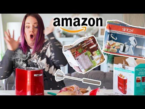 Trying Weird AMAZON Baking Gadgets! Ep 3