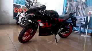 Full review warna baru suzuki gsx-r 150 black metallic 2018 dengan velg warna merah