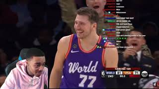 FlightReacts 2020 NBA Rising Stars - Full Game Highlights - World vs USA | 2020 NBA All-Star Weekend