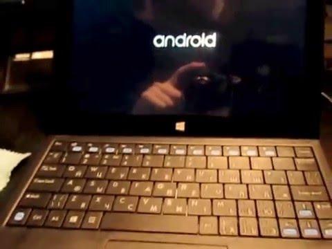 Android x86 на планшете Irbis tw89