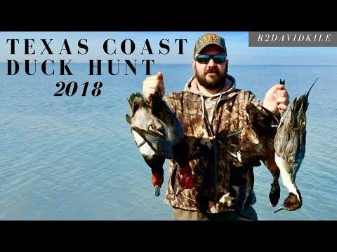 Texas Coast Duck Hunt 2018