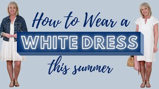 How to Wear a Whİte Dress Like a Boss this Summer