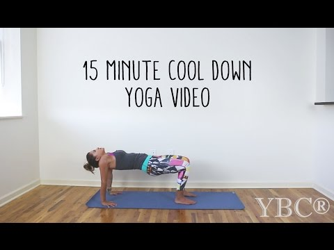 15 Minute Cool Down Yoga Video