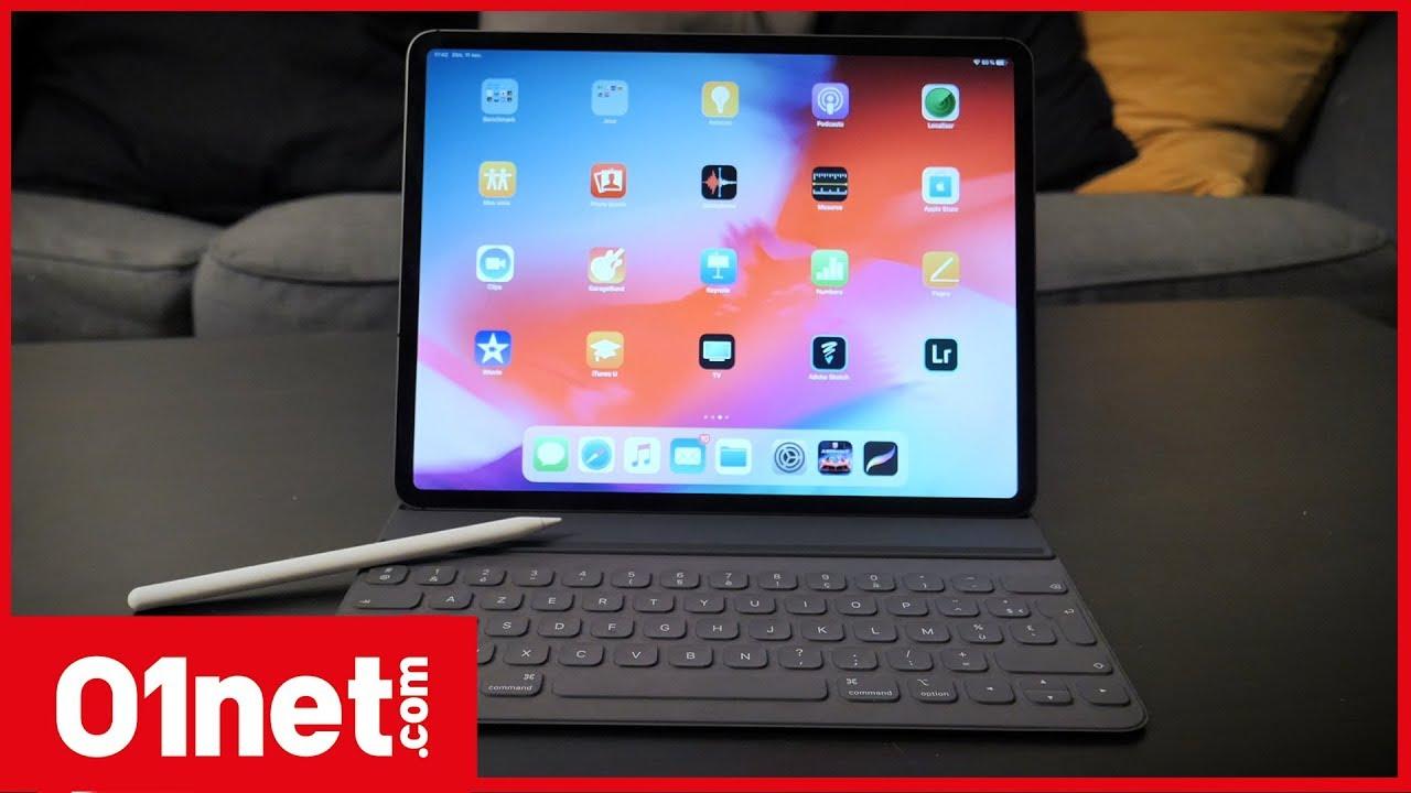 test ipad pro 2018 plus qu 39 une tablette presque un pc youtube. Black Bedroom Furniture Sets. Home Design Ideas